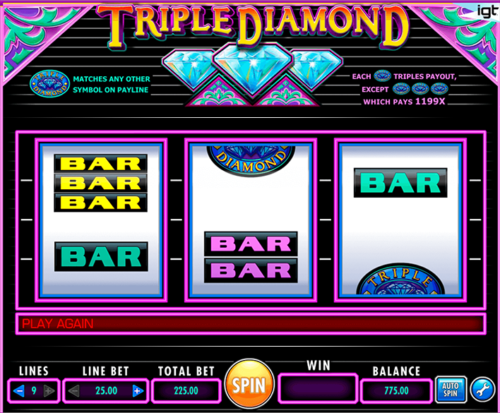 Slots Triple Diamond