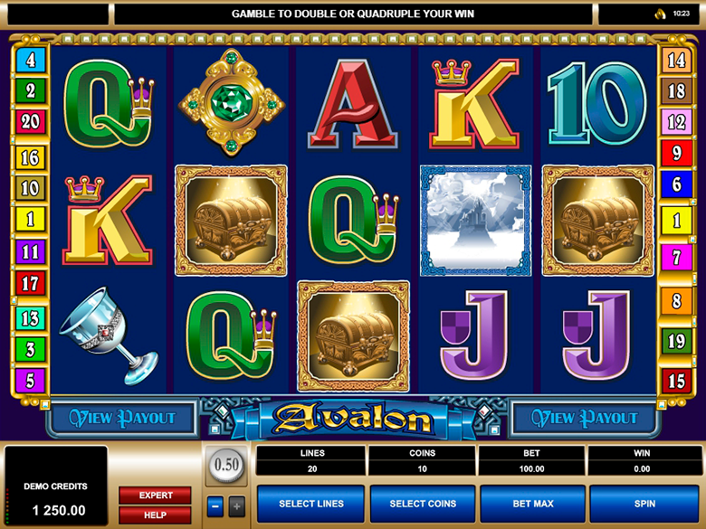Avalon Slot Game