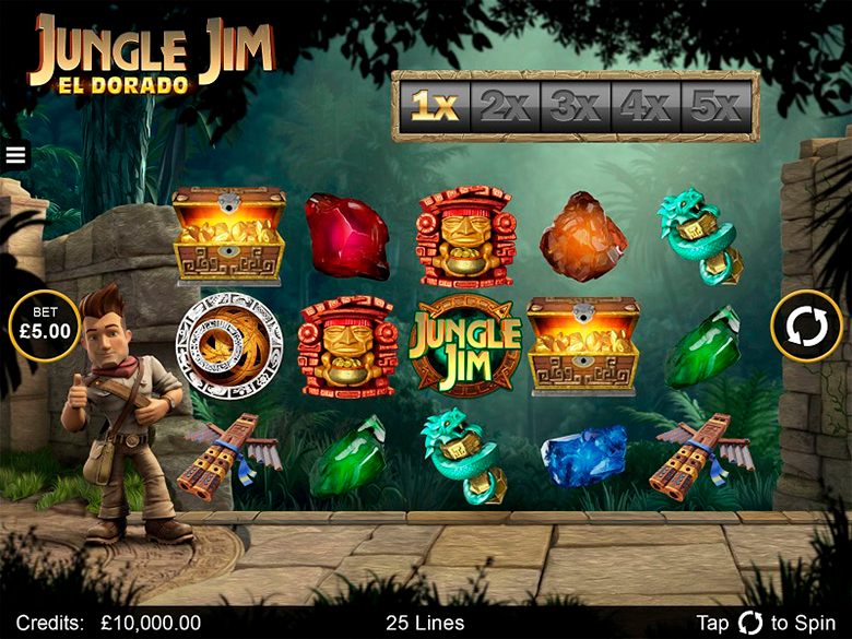 Jungle Jim El Dorado Slot Game