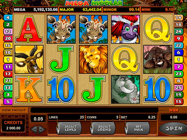 Slots Mega Moolah Progressive