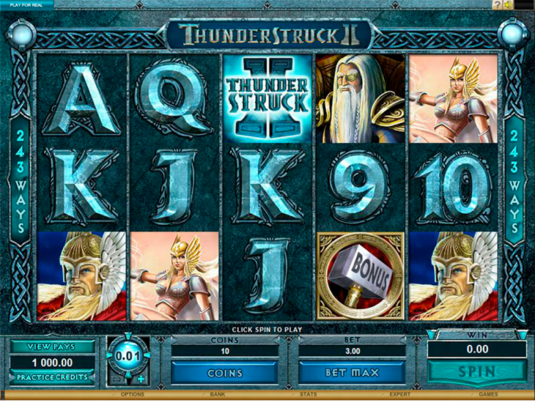 Slots Thunderstruck II