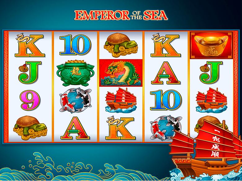 Emperor Of The Sea Slot Game