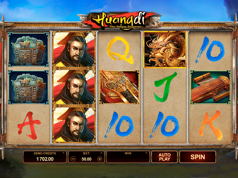 Huangdi The Yellow Emperor Slot Game
