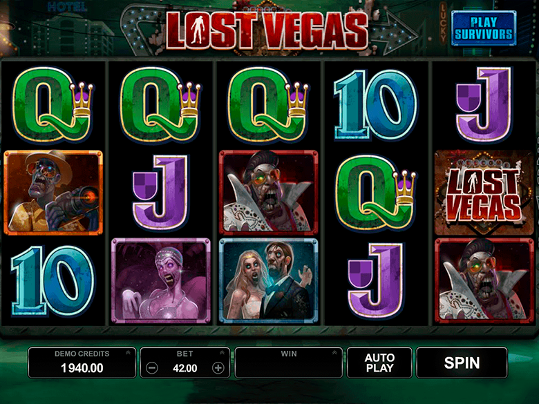Lost Vegas Slot Game