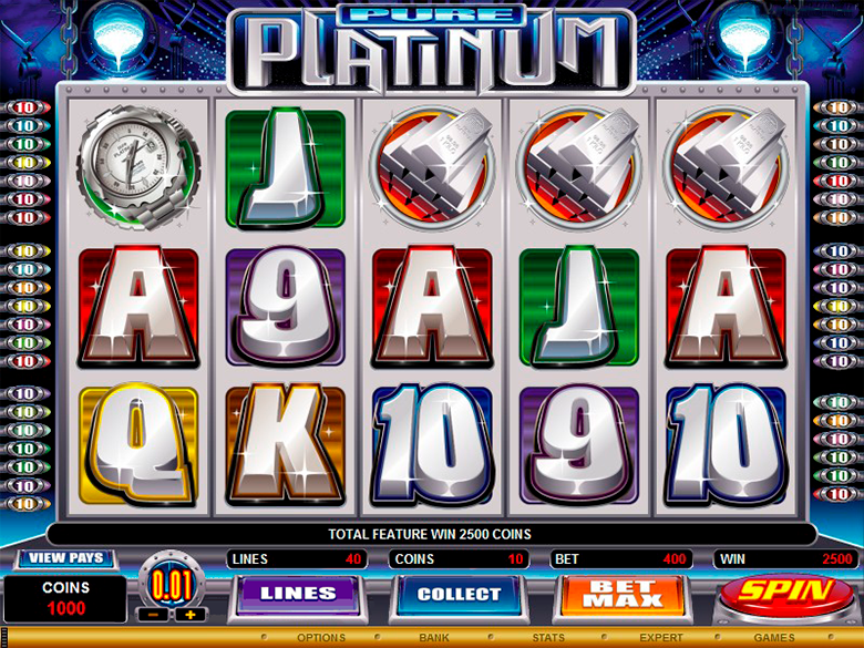 Pure Platinum Slot Game